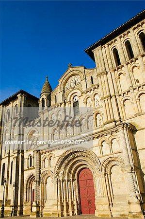 Facade of a church, Eglise Sainte-Croix, Bordeaux, France