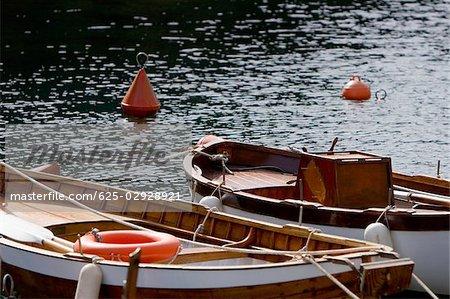 Boats in the sea, Italian Riviera, Santa Margherita Ligure, Genoa, Liguria, Italy