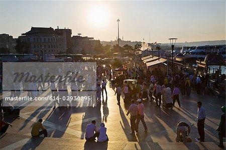 Emin Hafen, Istanbul