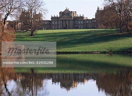 Palais de Blenheim, patrimoine mondial de l'UNESCO, Oxfordshire, Angleterre, Royaume-Uni, Europe