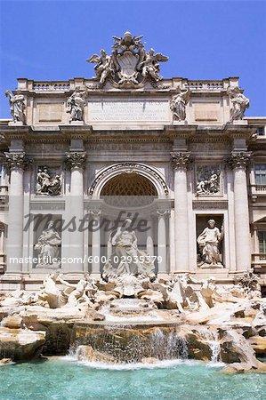 Trevi Fountain, Rome, Latium, Italy