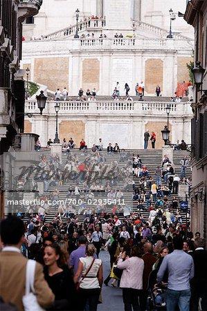 Spanische Treppe, Rom, Italien