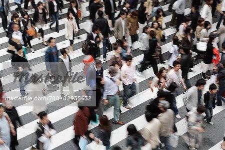 Personnes, Osaka, préfecture d'Osaka, région de Kinki, Honshu, Japon