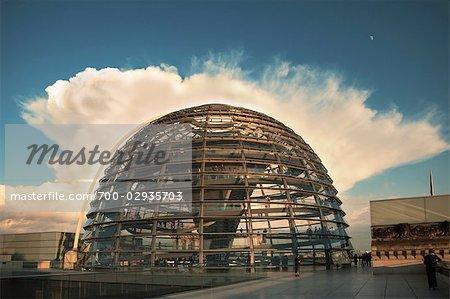 Coupole du Reichstag, Berlin, Allemagne