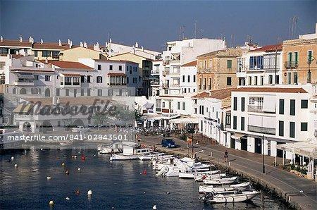 Es Castell, près de Mahon, Minorque, îles Baléares, Espagne, Méditerranée, Europe