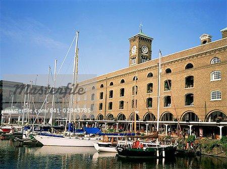 St. Katherine's Dock, London, England, Vereinigtes Königreich, Europa
