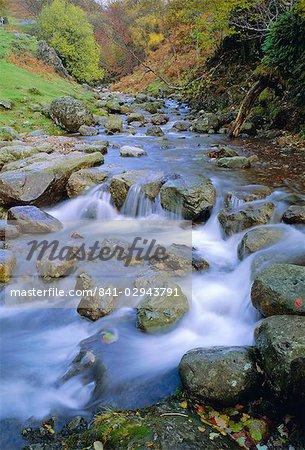 Eskdale stream, Lake District National Park, Cumbria, England, UK