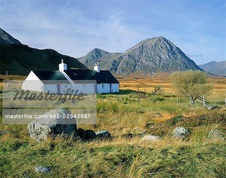 Croft in Glencoe area, Highland region, Scotland, United Kingdom, Europe