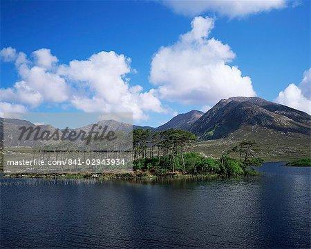 Derryclare Loch, Connemara, comté de Galway, Connacht, Eire (République d'Irlande), Europe