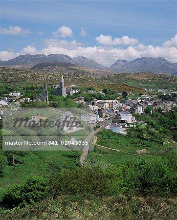 Clifden, Connemara, comté de Galway, Connacht, Eire (République d'Irlande), Europe
