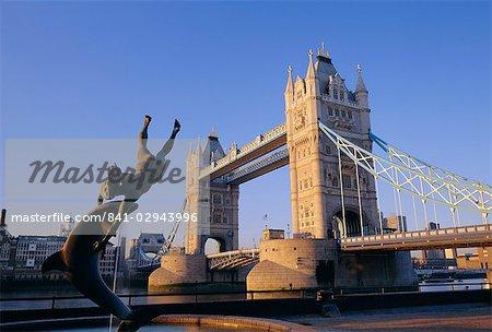 Tower Bridge, Londres, Angleterre, Royaume-Uni