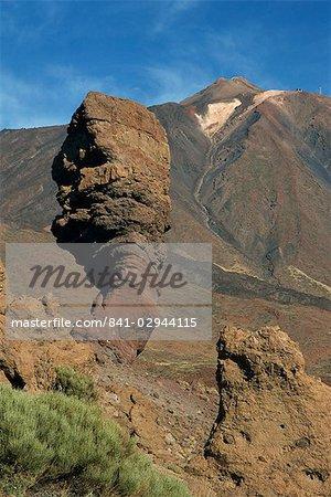 Mont Teide, le Parc National de Las Canadas del Teide, Tenerife, îles Canaries, Espagne, Atlantique, Europe