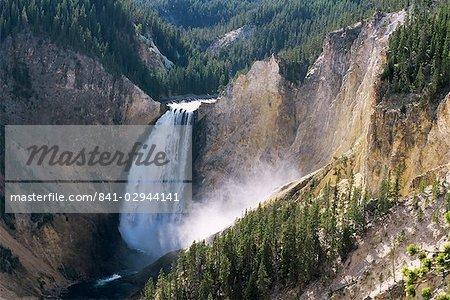 Grand Canyon, le Parc National de Yellowstone, l'UNESCO World Heritage Site, Wyoming, États-Unis d'Amérique, l'Amérique du Nord