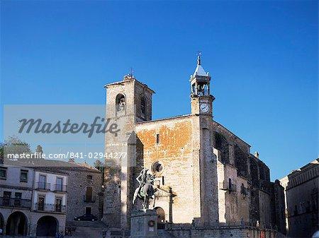 San Martin church, Trujillo, near Caceres, Extremadura, Spain, Europe