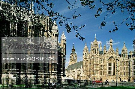 Maisons du Parlement, Westminster, Londres, Royaume-Uni, Europe