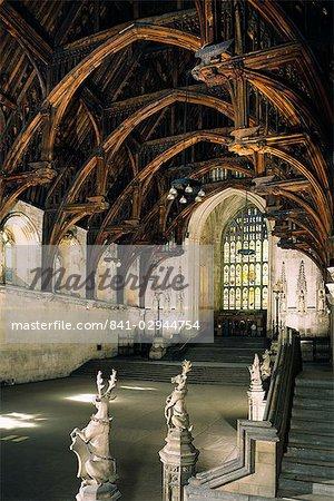 Westminster Hall, Westminster, UNESCO Weltkulturerbe, London, England, Vereinigtes Königreich, Europa