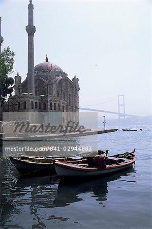 Ortakoy, pont du Bosphore, Bosphore, Istanbul, Turquie, Europe, Eurasie