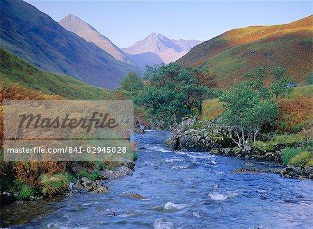 Glen Shiel, north west Highlands, Highlands Region, Scotland, United Kingdom, Europe