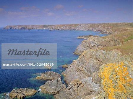 Kynance Cove, le lézard, Cornwall, Angleterre, Royaume-Uni, Europe