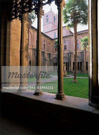 Monastère Santa Maria la Real, Najera, Rioja, Castilla y Leon, Espagne, Europe