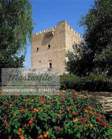 Château de Kolossi, Limassol, Chypre, Europe