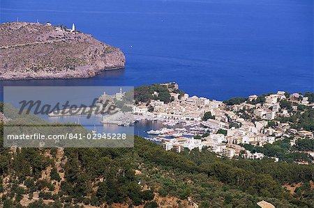 Puerto de Soller, Majorca, Balearic Islands, Spain, Mediterranean, Europe