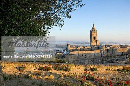 Misty view, Medina Sidonia, Andalousie, Espagne, Europe