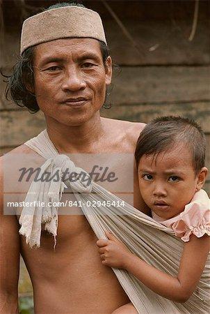 Guy personnes, Sarawak, en Malaisie, l'Asie du sud-est, Asie