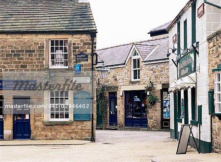 Portland Square, Bakewell, Peak District, Derbyshire, Angleterre, Royaume-Uni, Europe