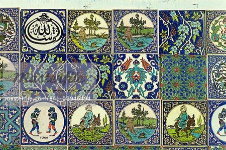 Conceptions modernes et traditionnelles d'Eurasie Tukahya, Anatolie, Turquie, Asie mineure,