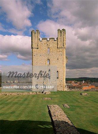 Helmsley Castle, Yorkshire, Angleterre, Royaume-Uni, Europe