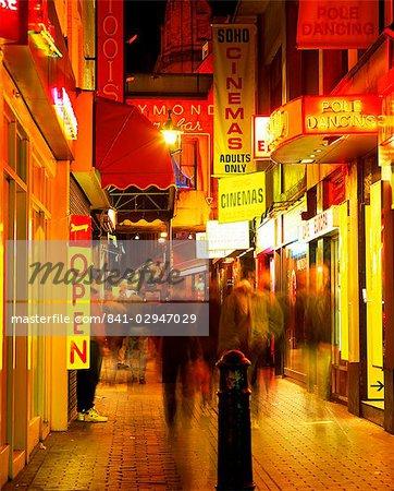Sex-shops, Soho, Londres, Royaume-Uni, Europe