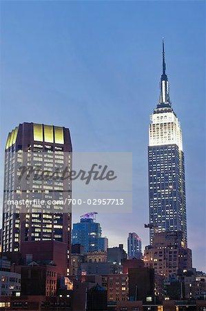 Empire State Building, Manhattan, New York, New York, USA