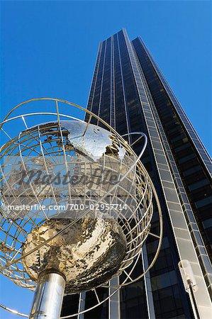 Time Warner Center and Trump International Tower, Manhattan, New York, New York, USA