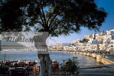 Iles Grecques Harbour, Naxos,