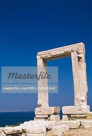 Portara - Gate,Naxos,Greek Islands