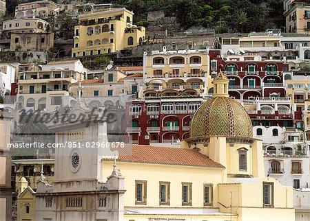 Vue de Campanie, Ravello, Amalfi Coast, Italie