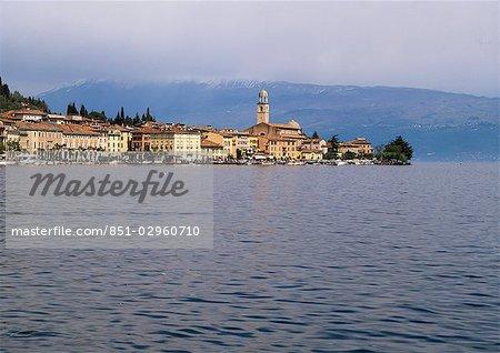 Salo, lac de garde, Lombardie, Italie