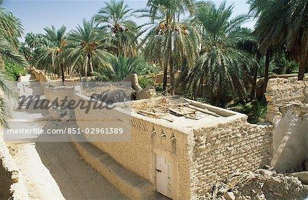 District agricole de la vieille ville, Ghadamès, Libye