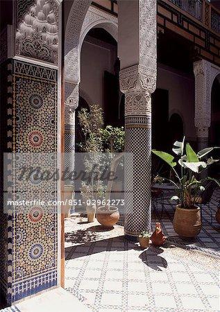 Riad al Bartel, Fès, Maroc