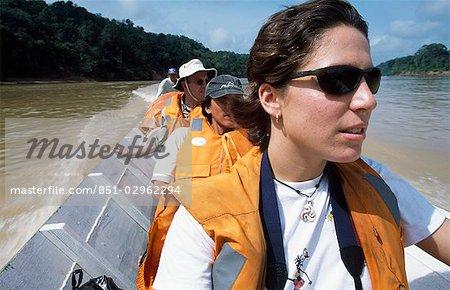 Rejang River, Sarawak Borneo, Malaisie
