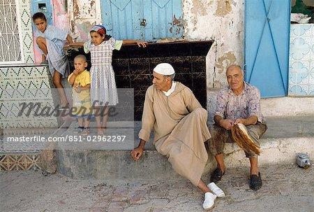 Famille, Bhalil, Maroc