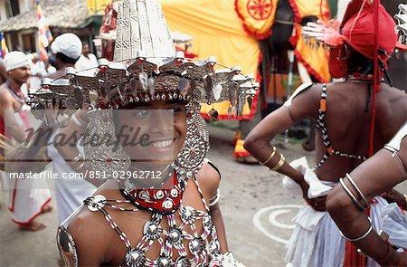 Perahera procession, Ambalangoda, Sri Lanka