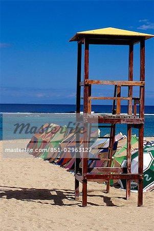 Playa de las canteras,Las Palmas,Gran Canaria,Canary Islands,Spain