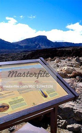 Las Canadas Parc National de Teide, Tenerife, les îles Canaries