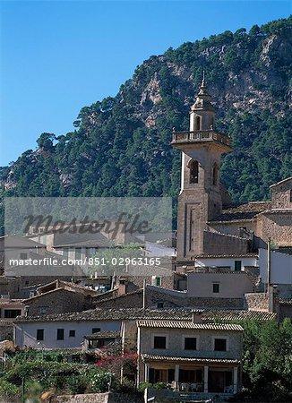 Église de Sant Bartomeu Valldemosa, Majorque, Espagne