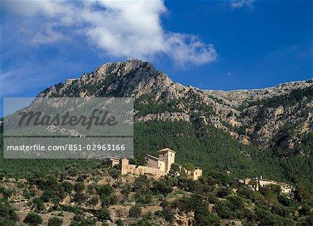 Church in Deia.,Mallorca,Spain