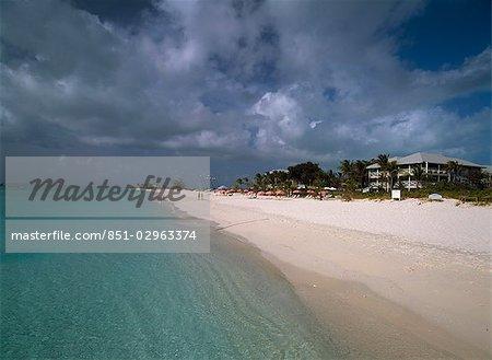 Grace Bay beach,Providenciales,Turks and Caicos Islands