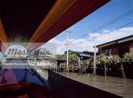 Rivière de Chao Phraya, Bangkok, Thaïlande