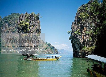 James Bond Island, baie de Phangnga, Thaïlande